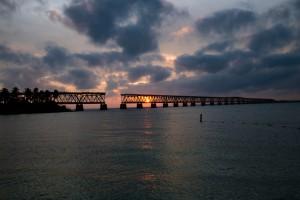 Sunset in the Bahia Honda State Park !