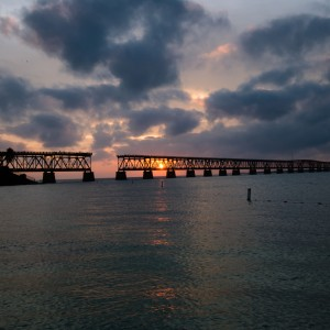 Sunset in the Bahia Honda State Park !